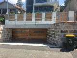 Sliding gate for residential garage