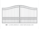 custom longreach and doggy bars swing gate